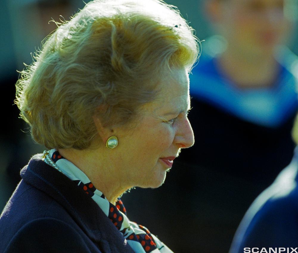Margaret Thatcher. Foto.