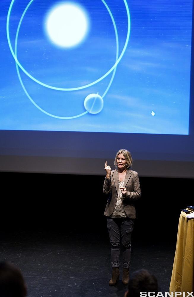 Presentasjonsprogrammer kan brukes både ved større og mindre foredrag