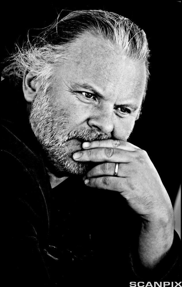Portrett av den norske forfattaren Jon Fosse