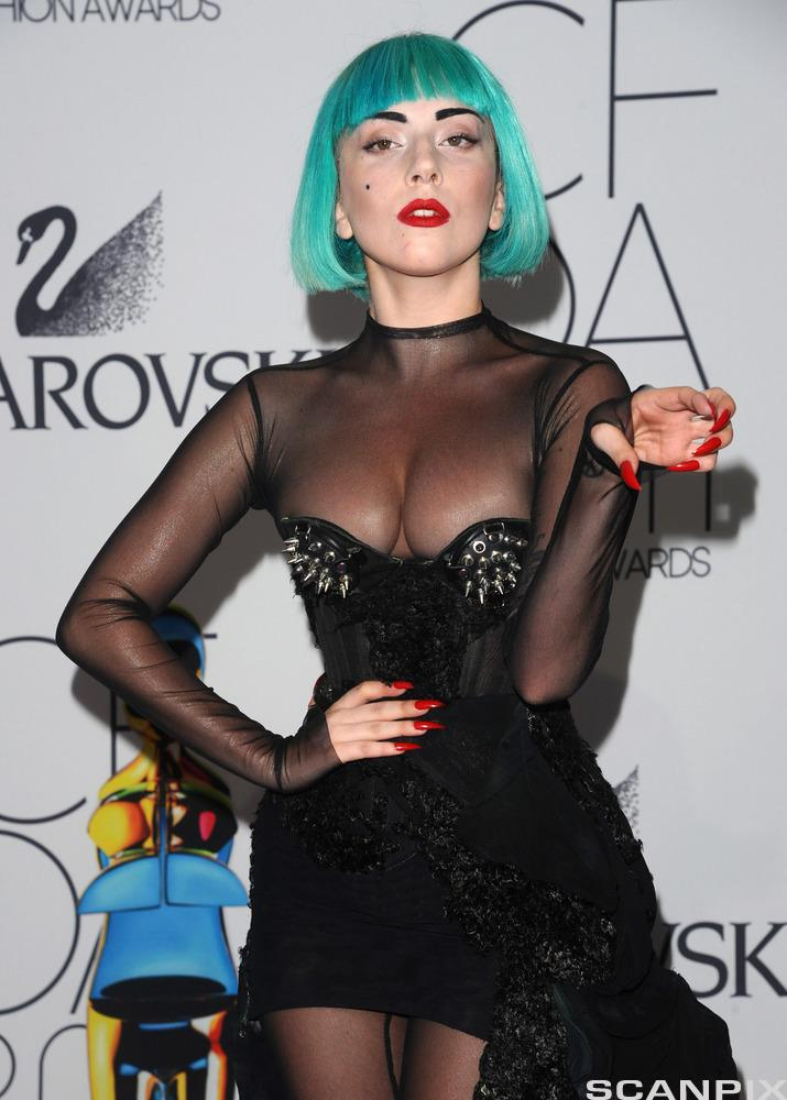 Lady Gaga. Foto.