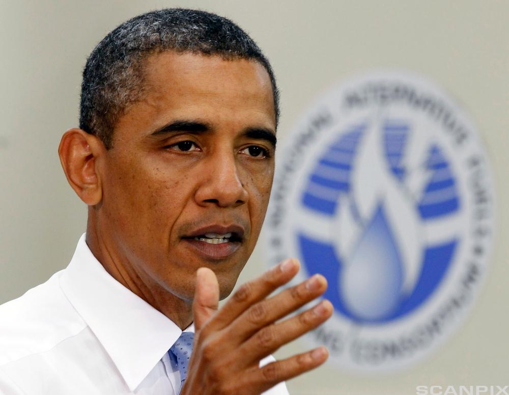 U.S. President Barack Obama speaks during a visit to Northern Virginia Community College in Alexandria