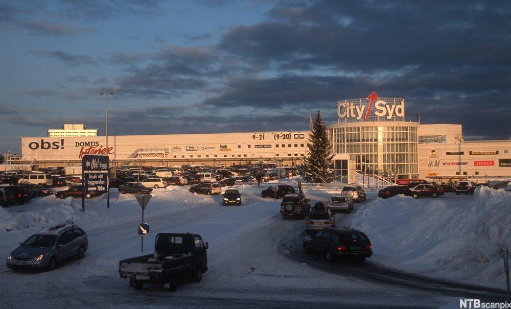 City-Syd kjøpesenter utenfor Trondheim