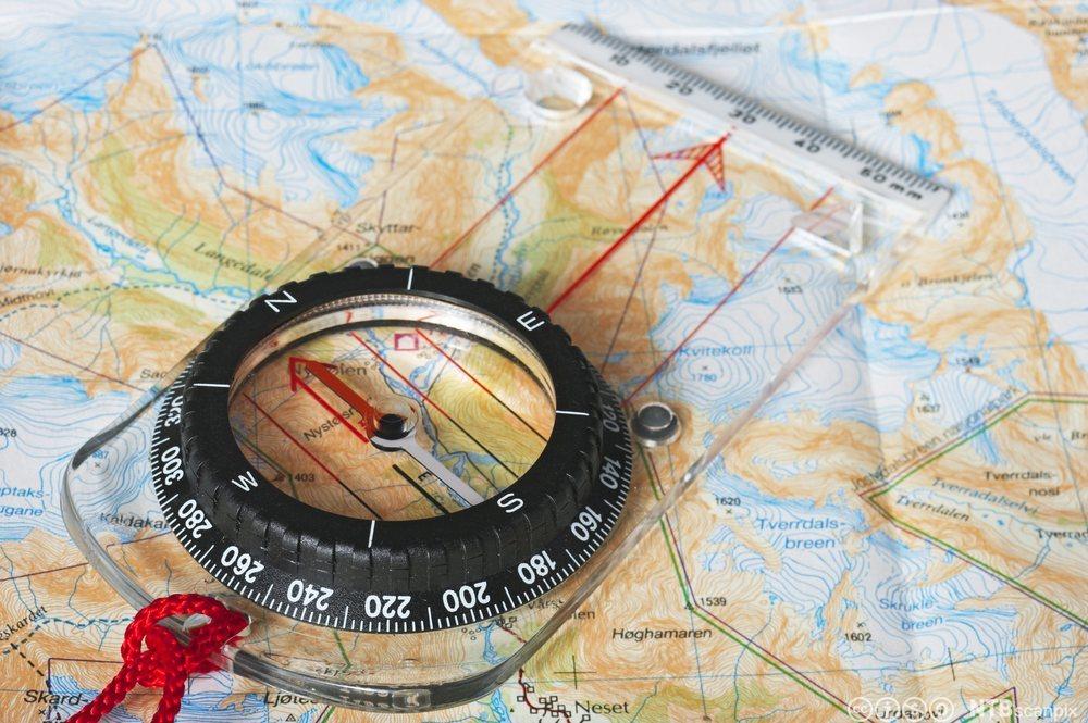 kart kompass Naturbruk Vg1   Første økt med kart og kompass   NDLA