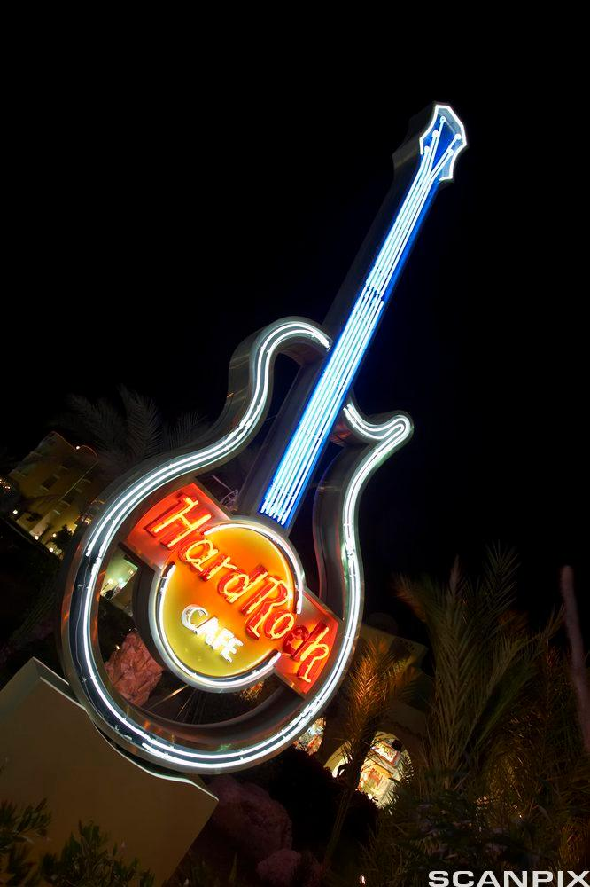 Logo for Hard Rock Cafe