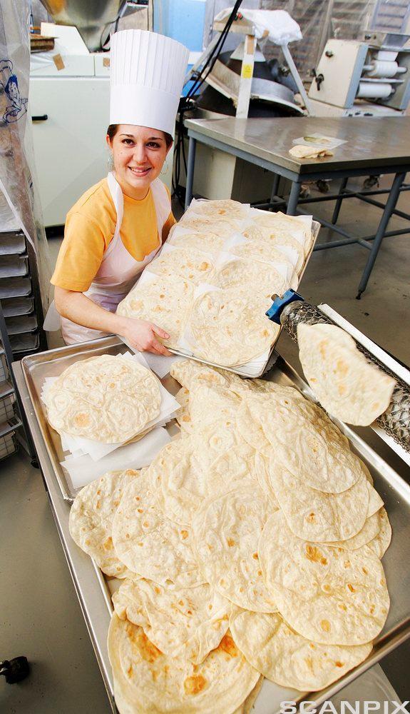 Tortillabakeri. Foto.
