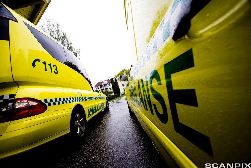 Ambulanse. Foto.