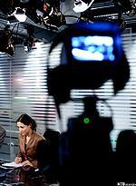 Nyhetsanker Mah-Rukh Ali i TV2 . Foto.