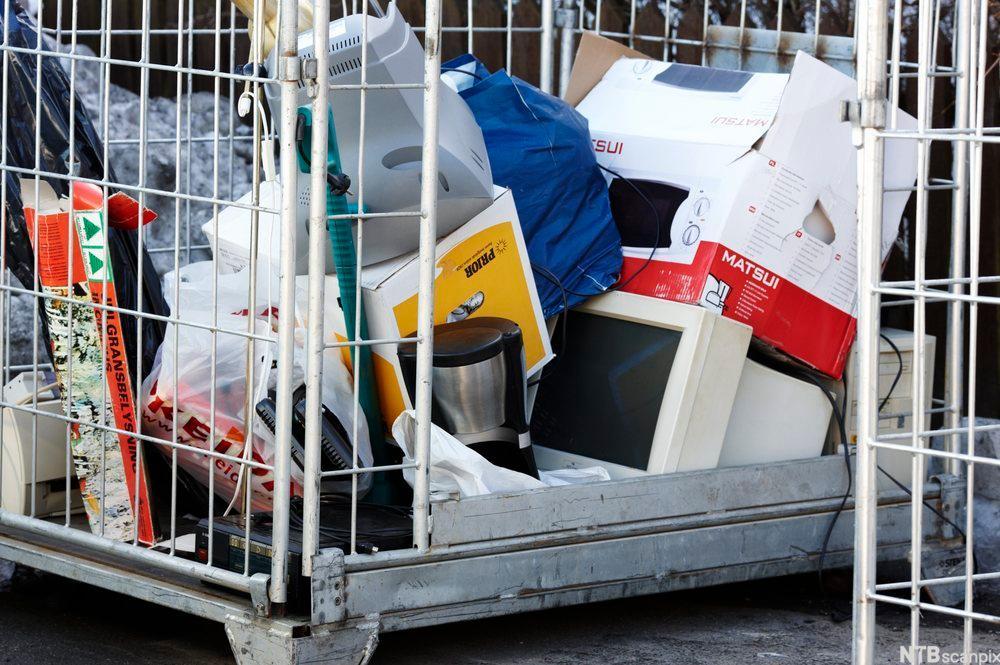 Forhandlere av EE-produkter har plikt til å ta i retur EE-avfall som er forbruksavfall