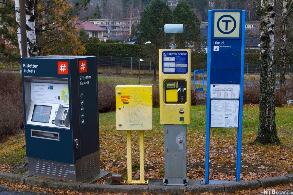 Billettautomater