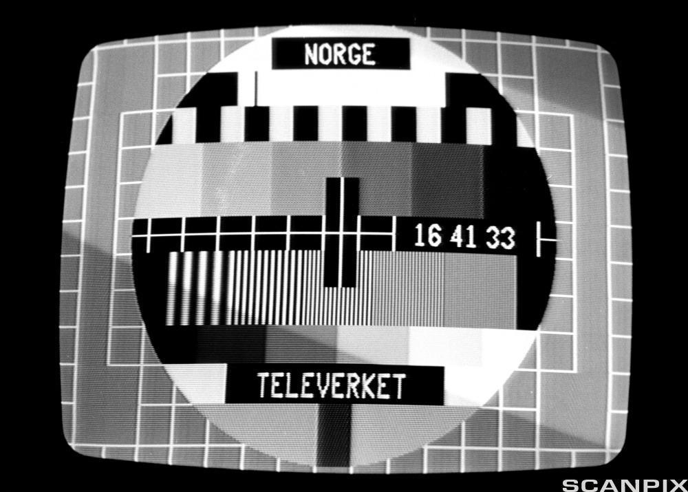 Prøvebilde fjernsyn