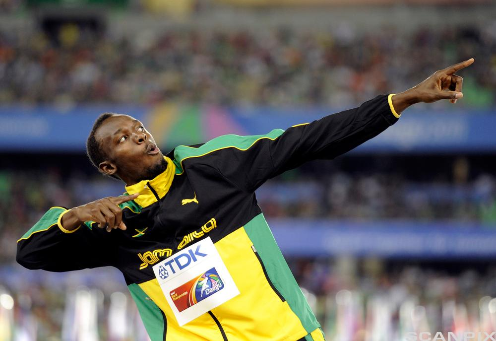 Usain Bolt. Foto.