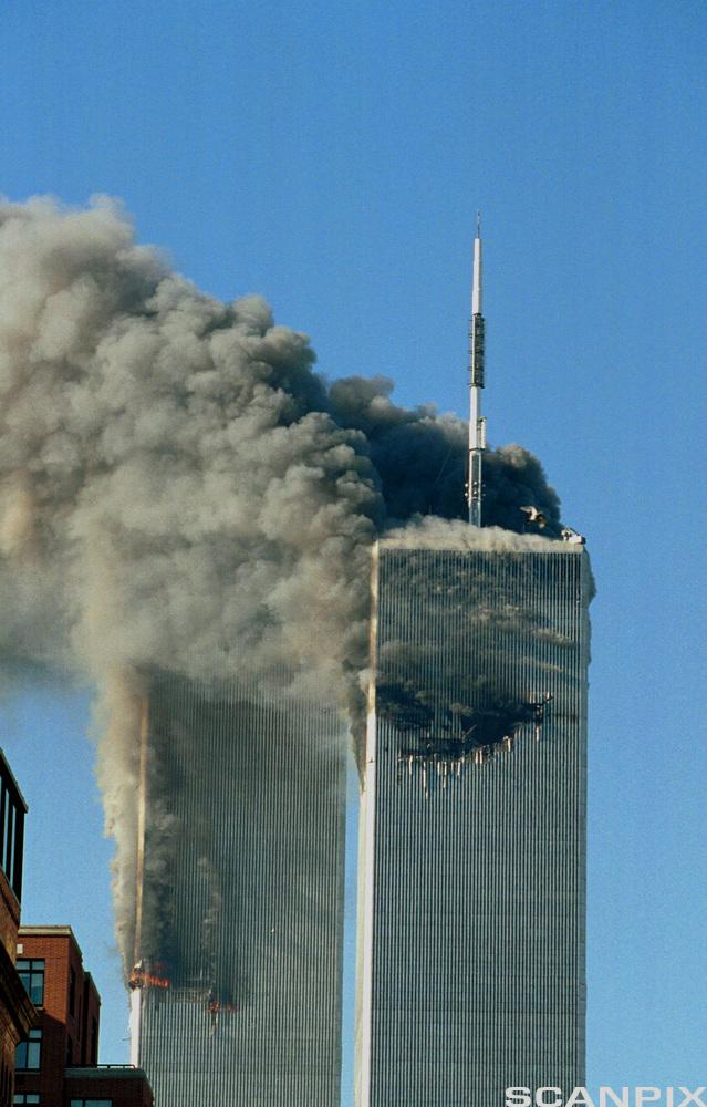 Twin Towers 9/11. Photo.
