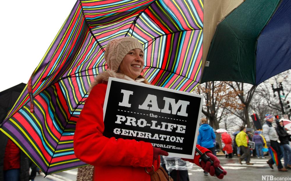 Anti-abortion demonstrators