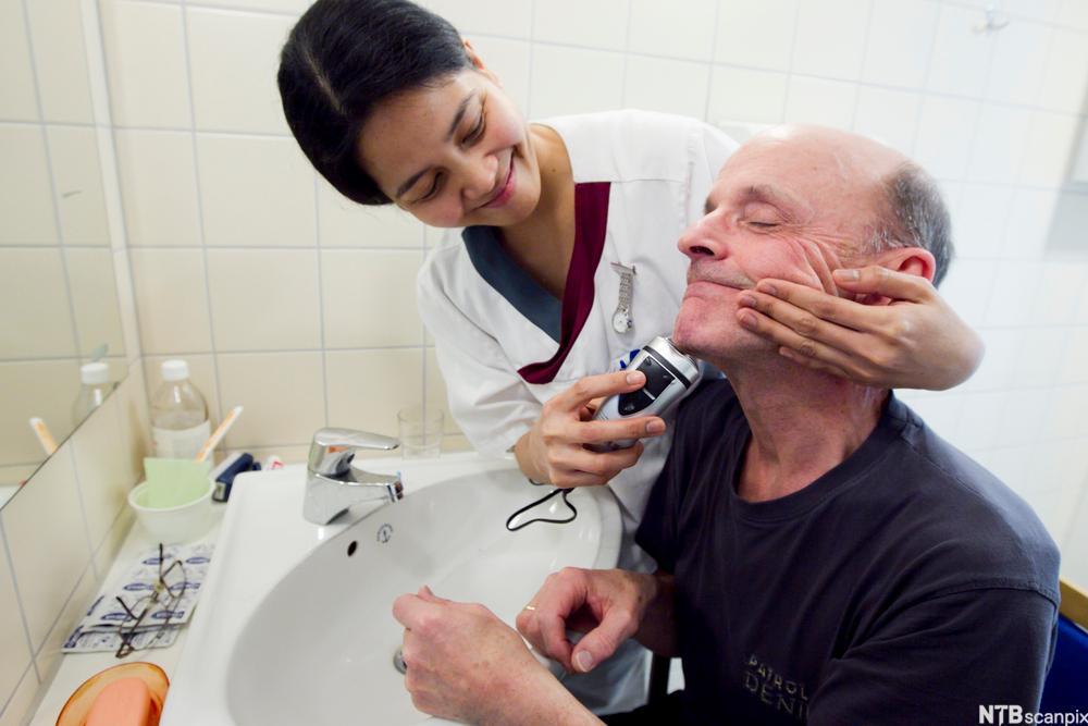 Barbering. Foto.