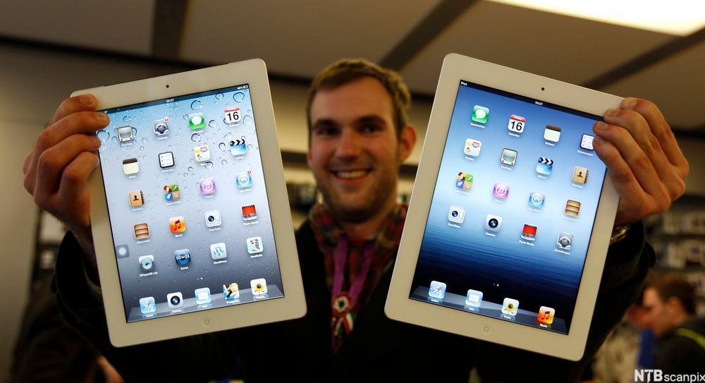 iPad. Foto.