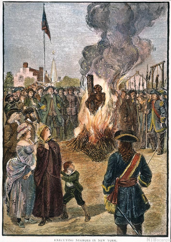Slave Execution. Maleri.