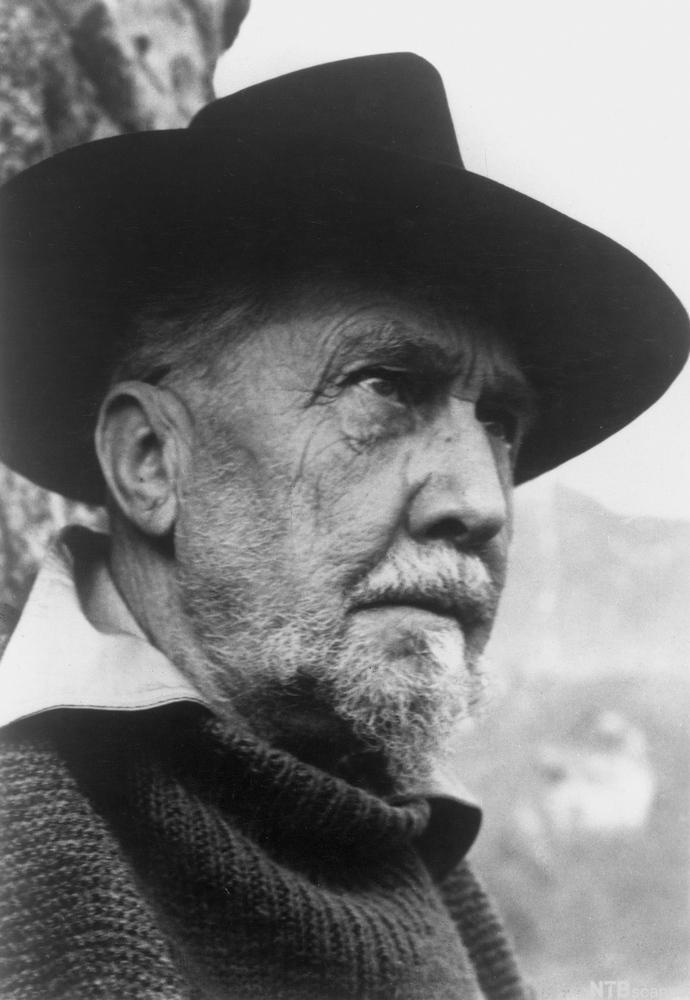 Photo of American Poet Ezra Pound