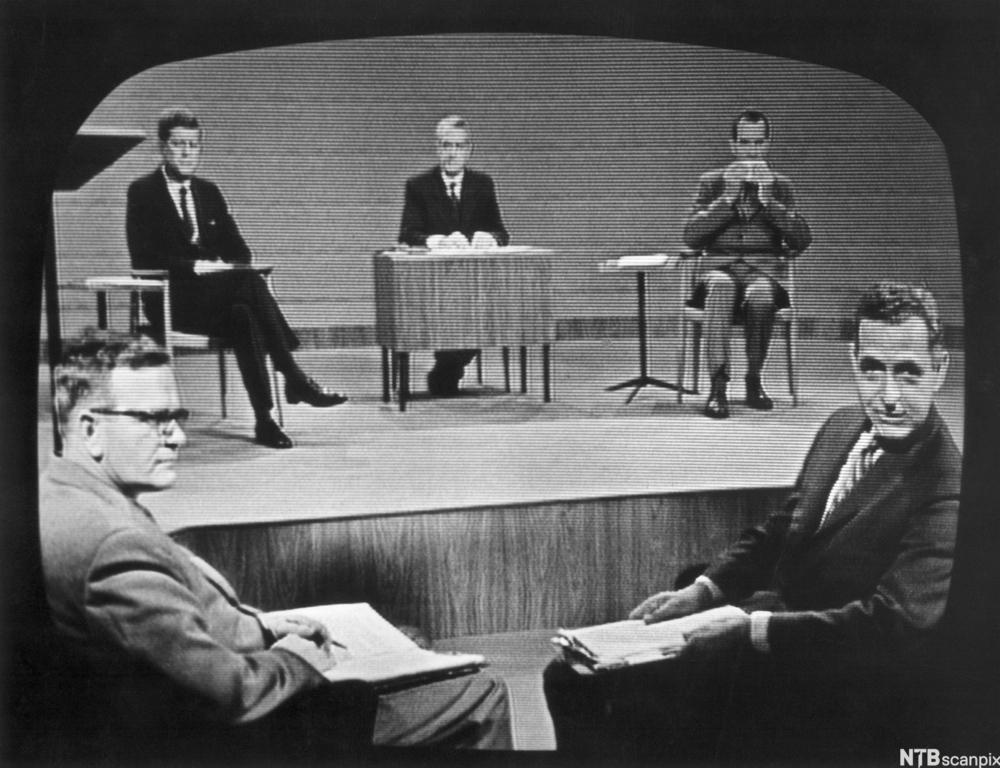 Debatt mellom Richard Nixon og John F. Kennedy