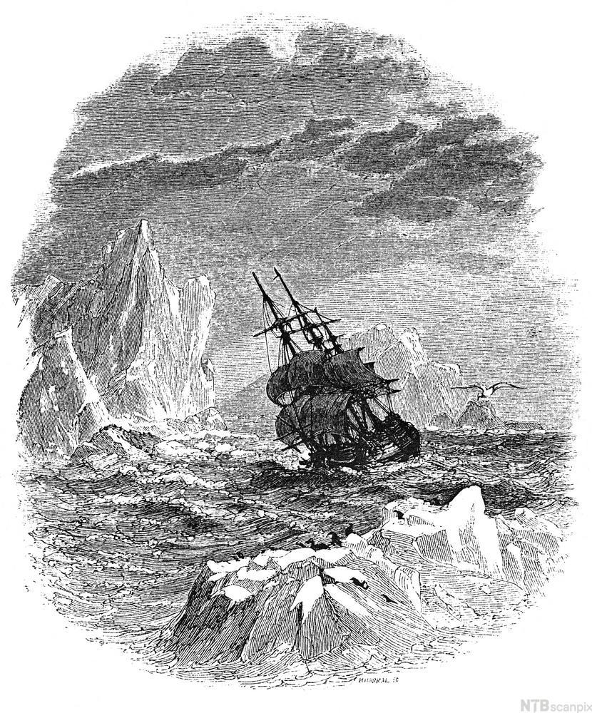 """And southward aye we fled"""