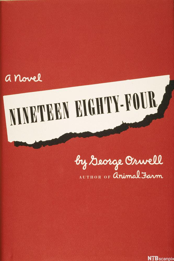 Front Cover of George Orwell's Nineteen Eighty Four (1949)