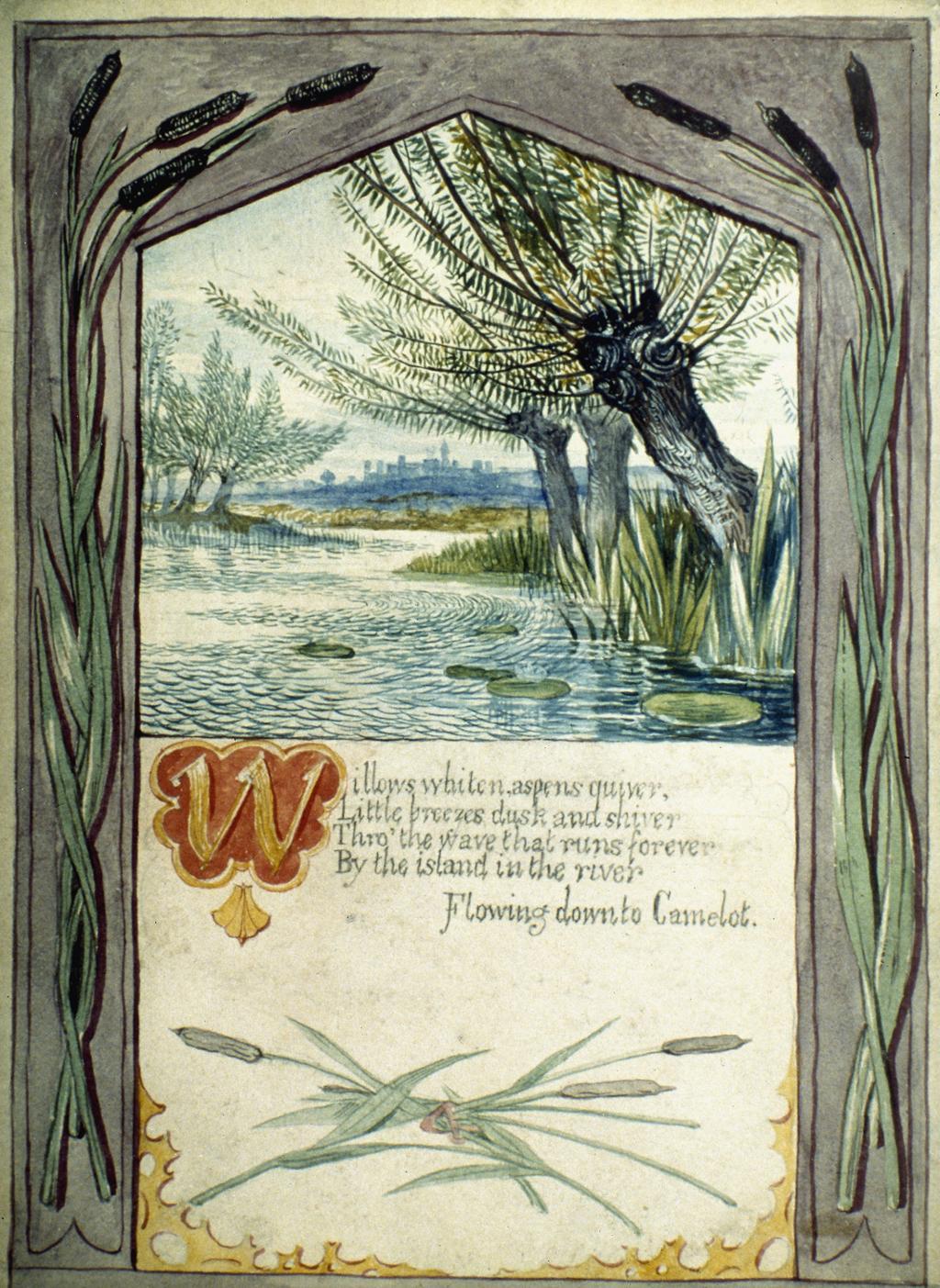 tennyson lady of shalott