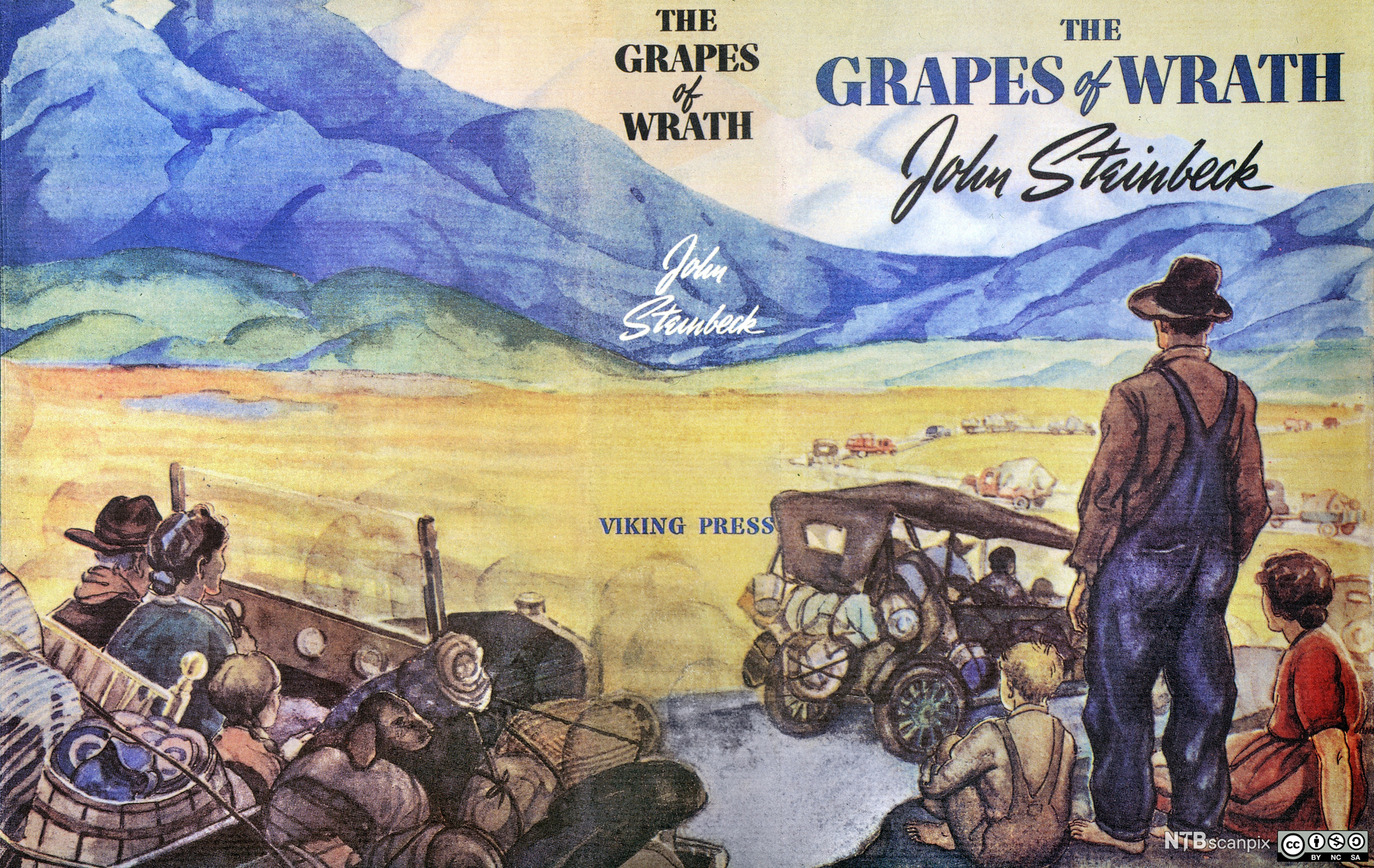 the grapes of wrath themes