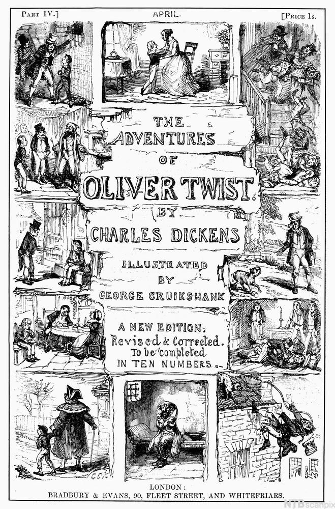 Front Cover of Oliver Twist by Charles Dickens