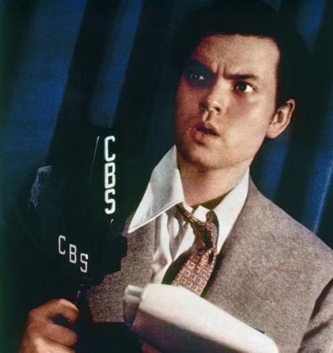 Orson Welles. Foto.