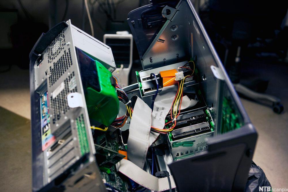 Ødelagt harddisk