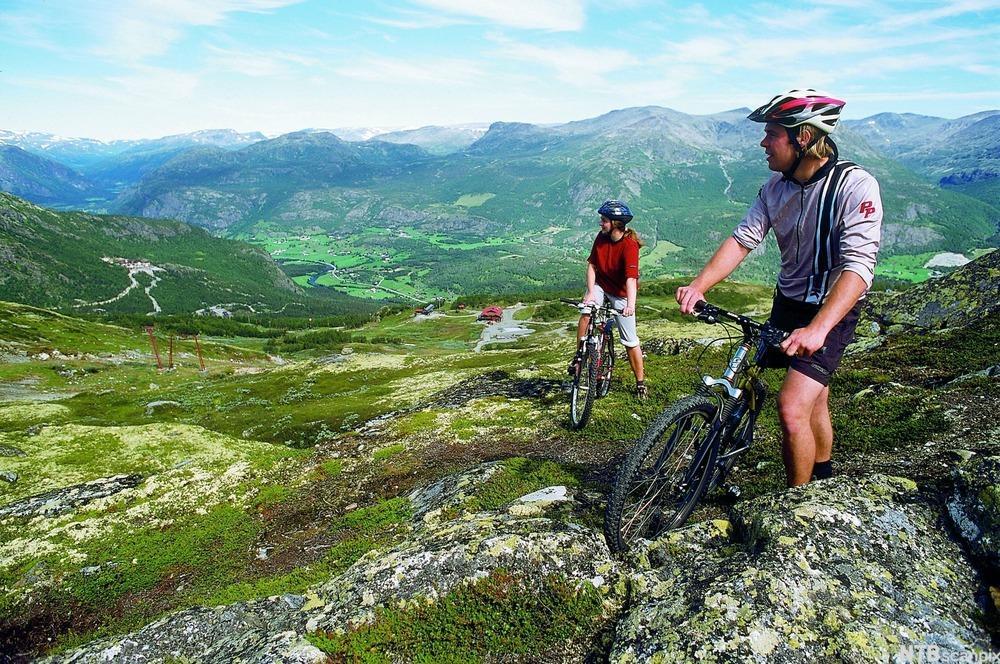 Sykkeltur i Hemsedal. Foto.