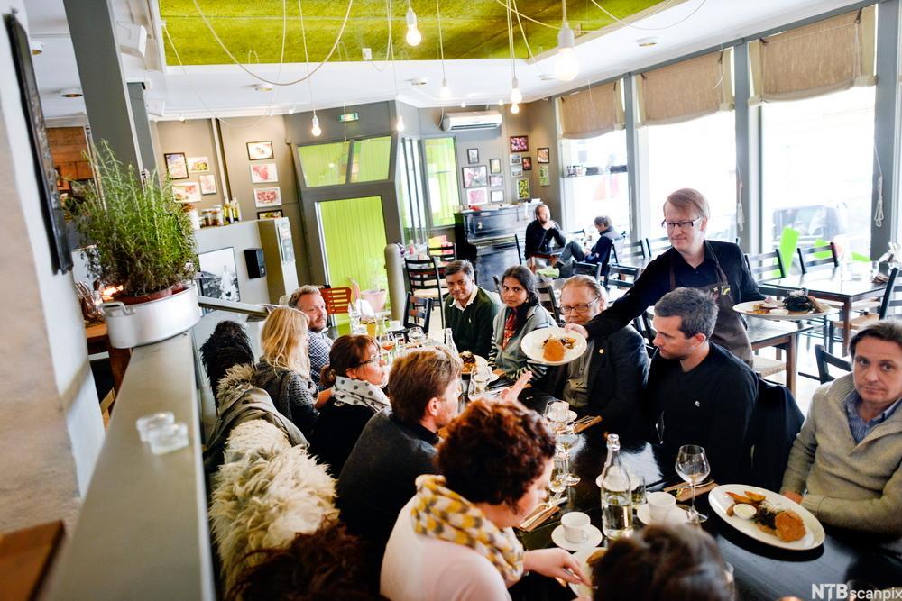 Bilde fra restaurant