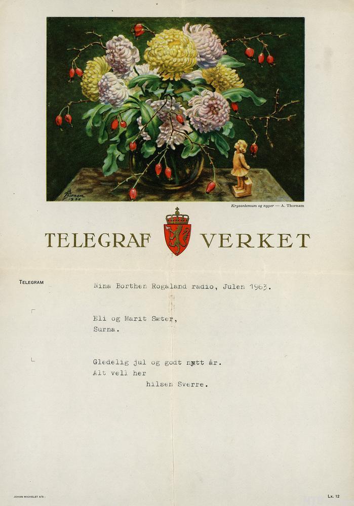 Telegram. Foto.