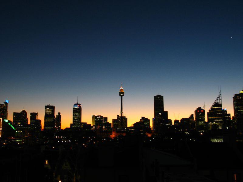 Sydney Skyline. photo.