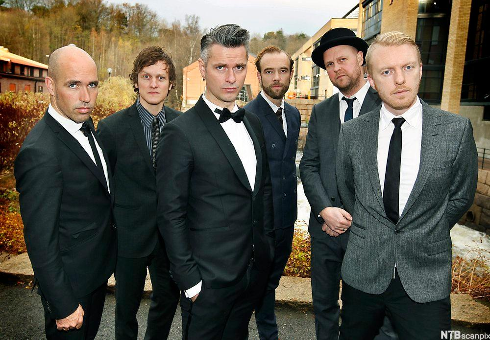 Kaizers Orchestra. Foto.