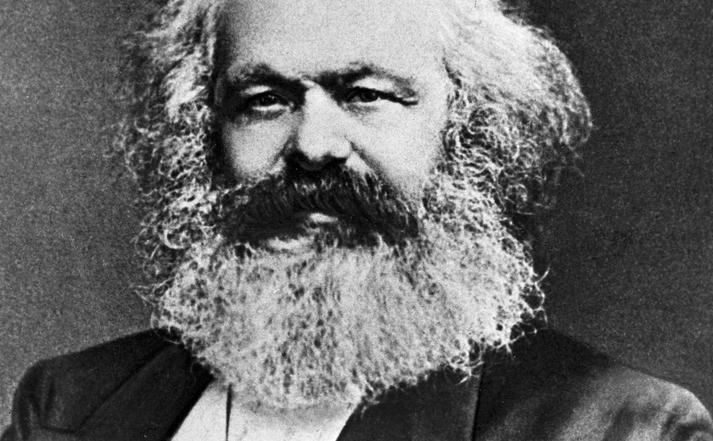Karl Marx. Foto.
