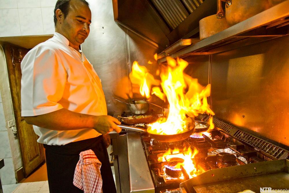 Restaurant El Horno. Foto.