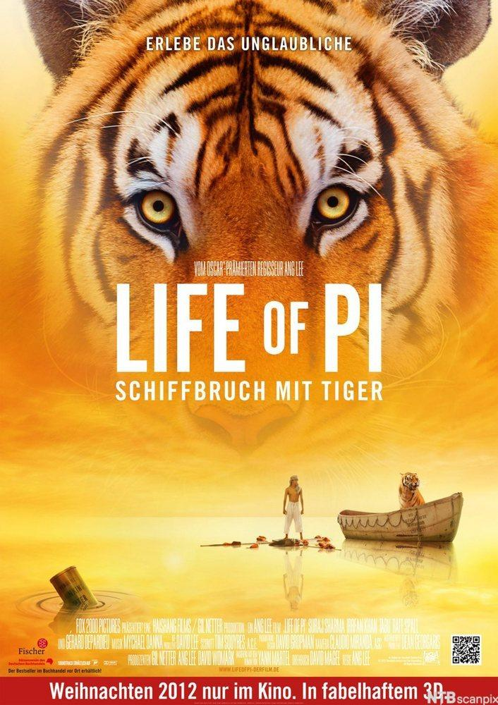 Life of Pi-plakat.