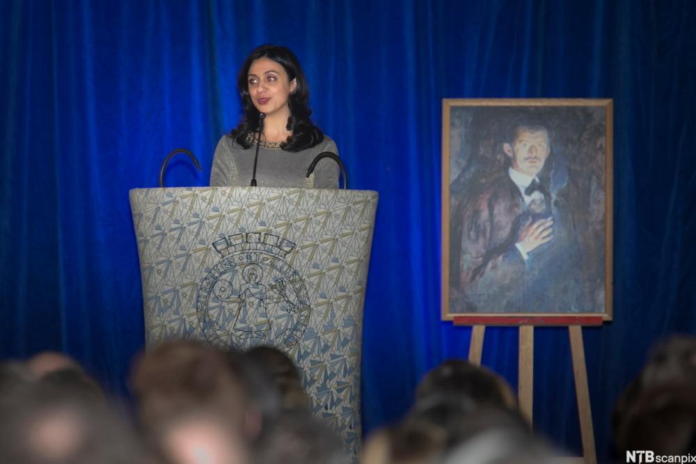 Kulturminister Hadia Tajik