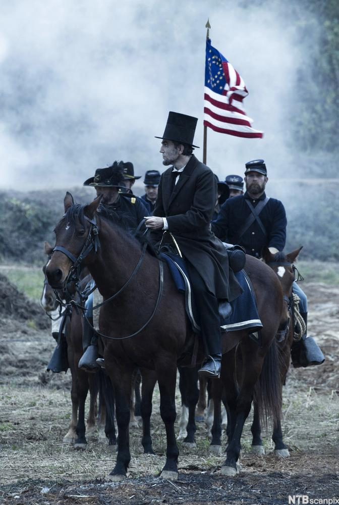Daniel Day-Lewis as President Lincoln