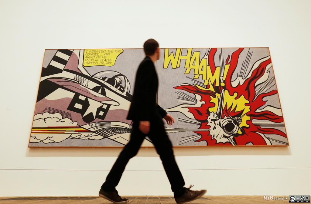 """Roy Lichtenstein's """"Whaam"""" (1963)"""
