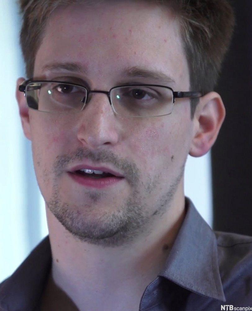 portrett av  Edward Snowden