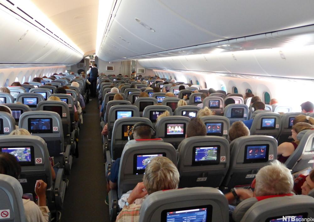 Bilde av en flykabin