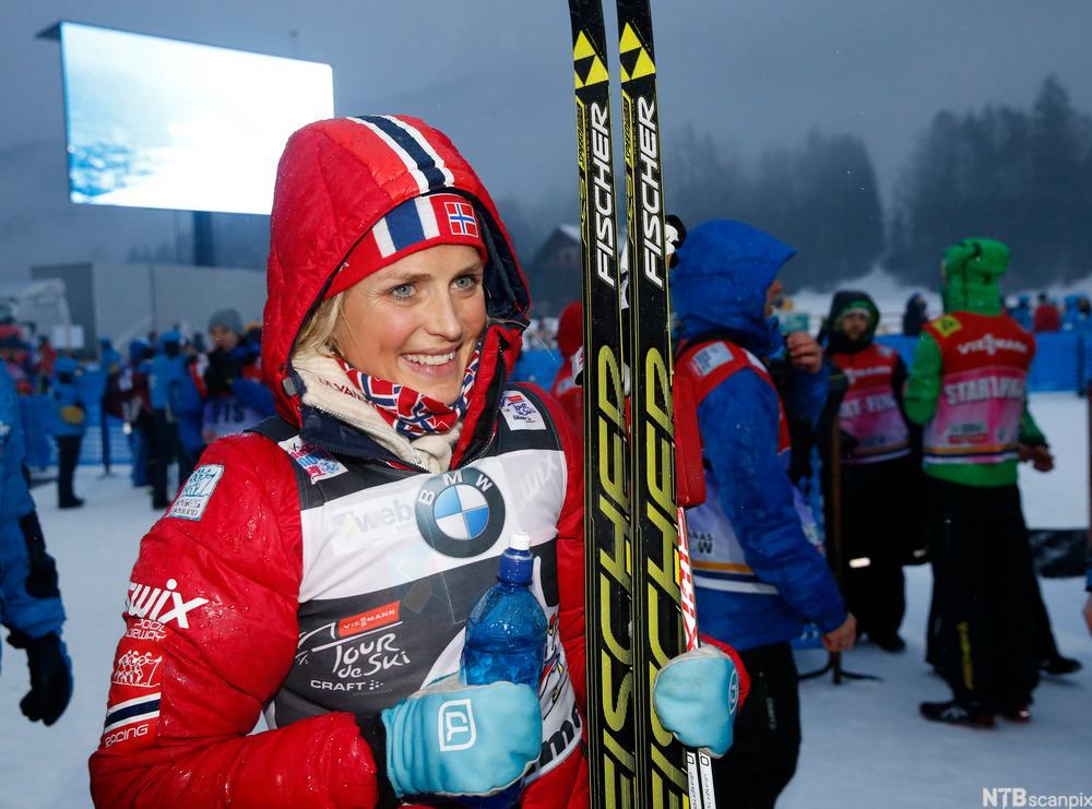 Therese Johaug vant Tour di Ski i 2014.