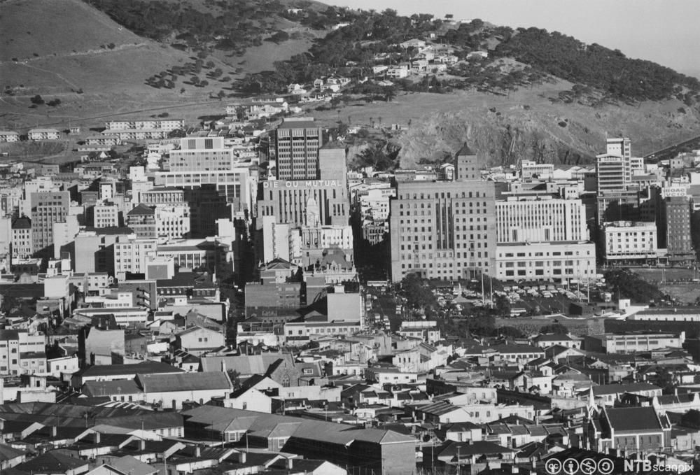 Cape Town i Sør-Afrika på 1960-tallet. Foto