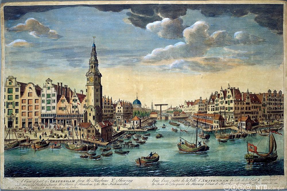 Amsterdam havn på 1700-tallet