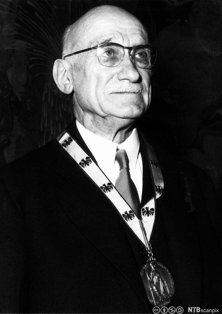 Portrett av Robert Schuman. Foto.