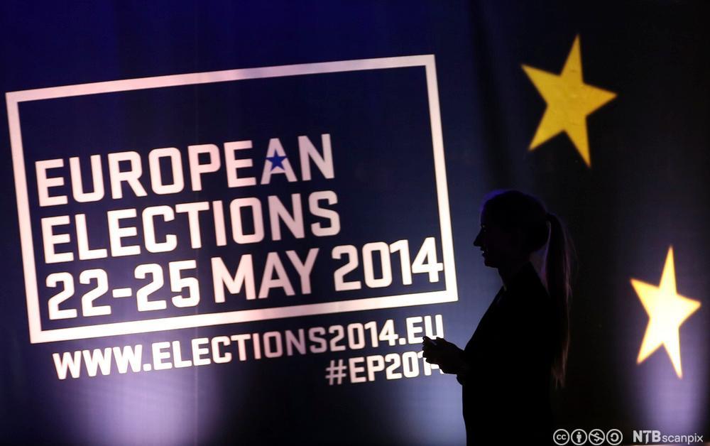 Europaparlamentsvalg. Foto.