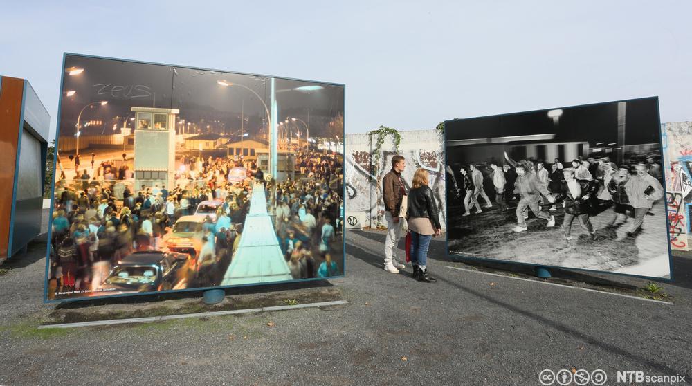 Utstilling om Berlinmurens fall