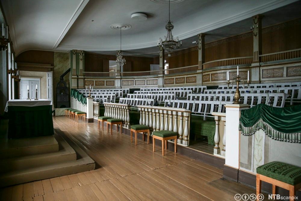den gamle stortingssal