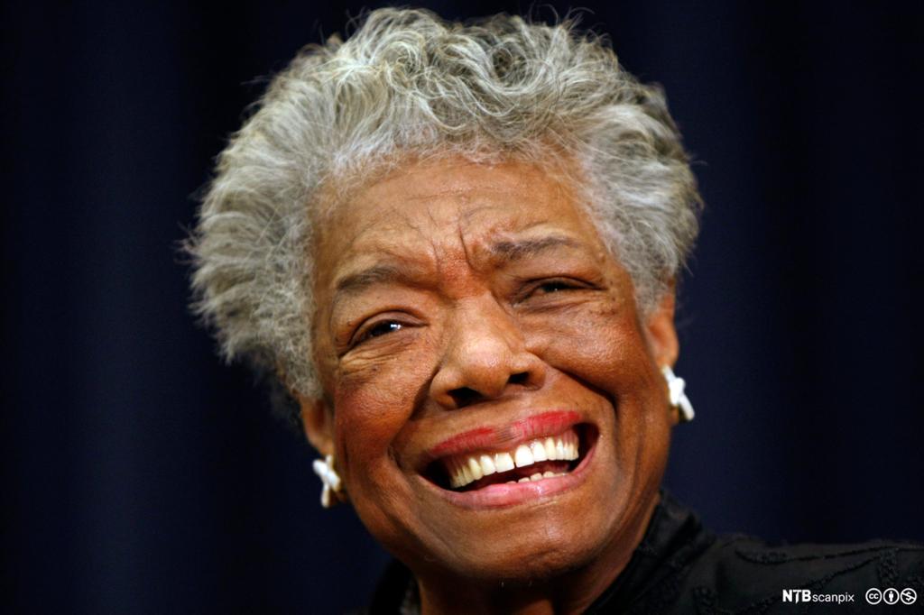 Maya Angelou. Foto.